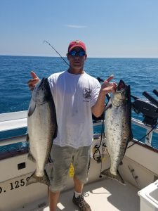 chicago fishing king salmon & lake trout